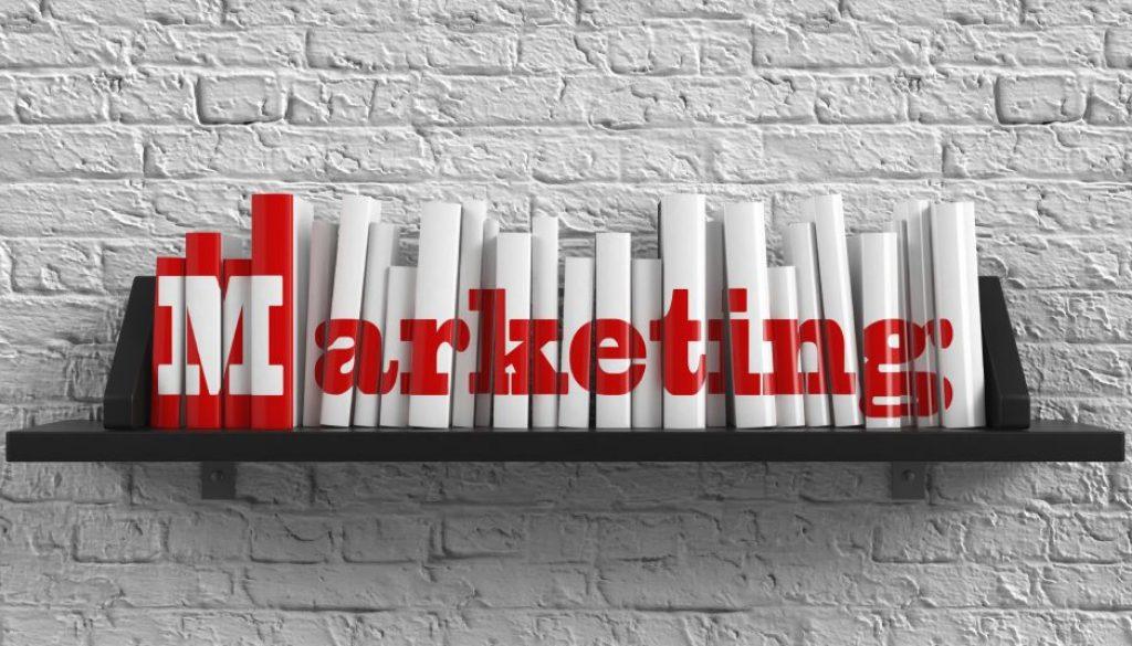 Marketing. Education Concept.