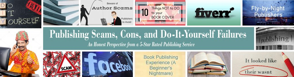 How to avoid book publishing scams